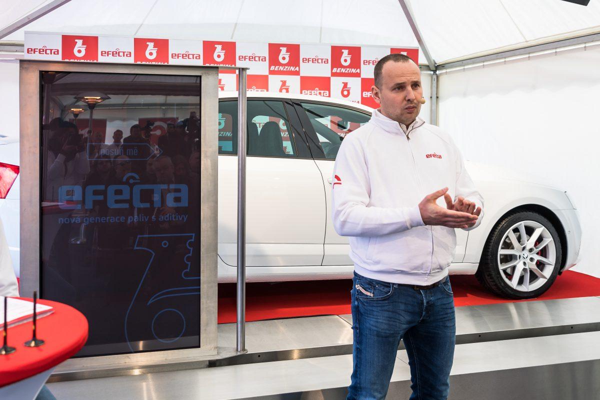 Marek Zouvala, šéf sítě Benzina