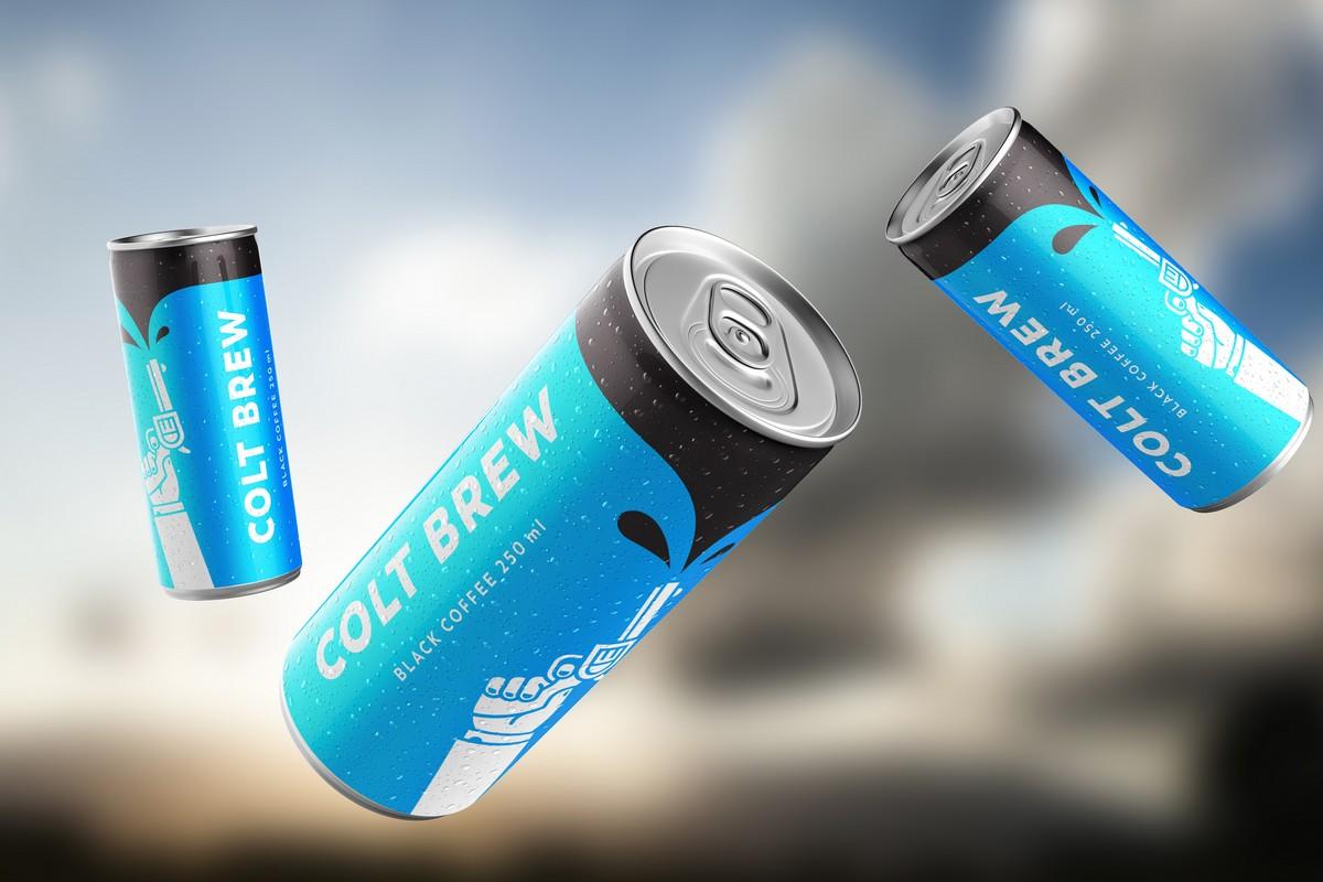 Káva Colt Brew v novém balení