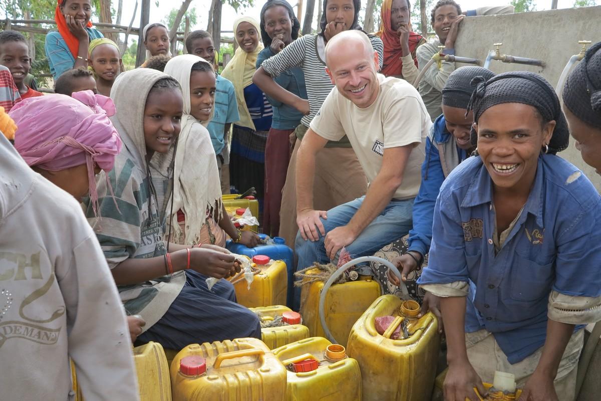 Tomáš Vyhnálek v Etiopii