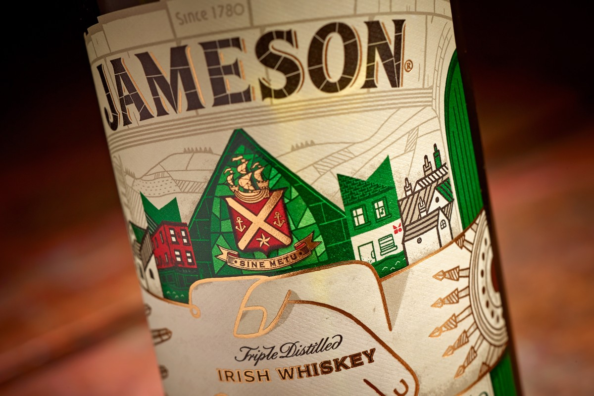 Limitovaná edice whiskey Jameson. Foto: Eoin Holland