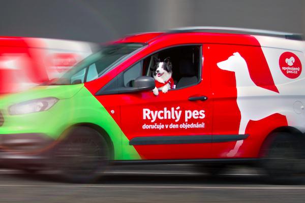 E-shop Spokojený pes spustil vlastní rozvoz Rychlý pes