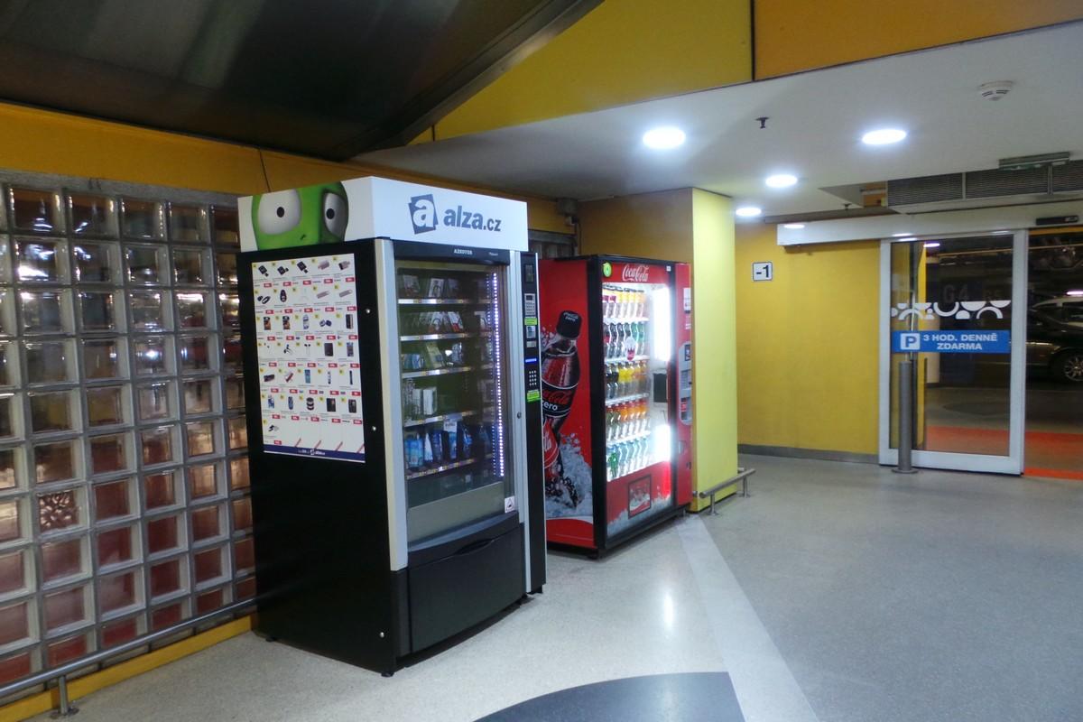 Nové prodejní automaty Alzy
