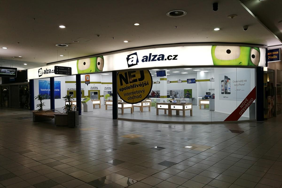 Nová ostravská prodejna Alzy