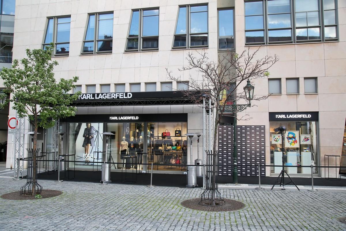 Nový butik Karl Lagerfel v galerii Myslbek