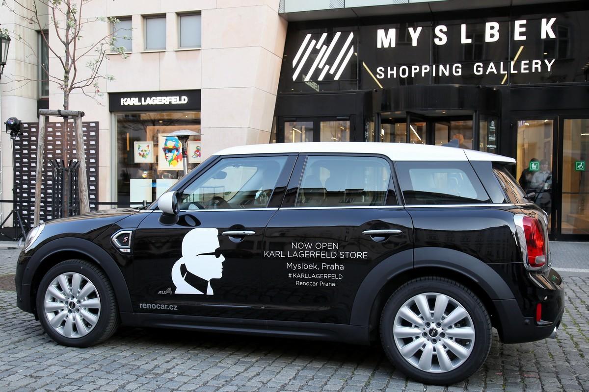 Nový butik Karl Lagerfeld v galerii Myslbek
