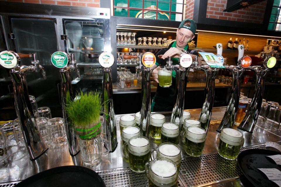 Velikonoční speciál Starobrna - Zelené pivo