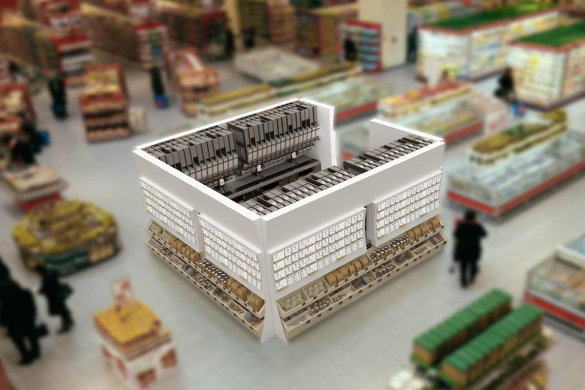 Jak by zásobníky Miwa vypadaly na prodejní ploše