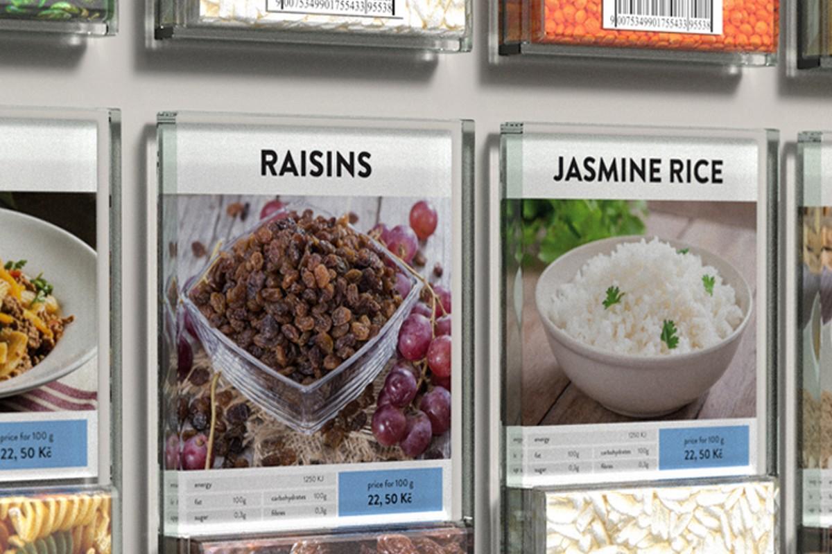Sloužit může systém hlavně pro sypké potraviny