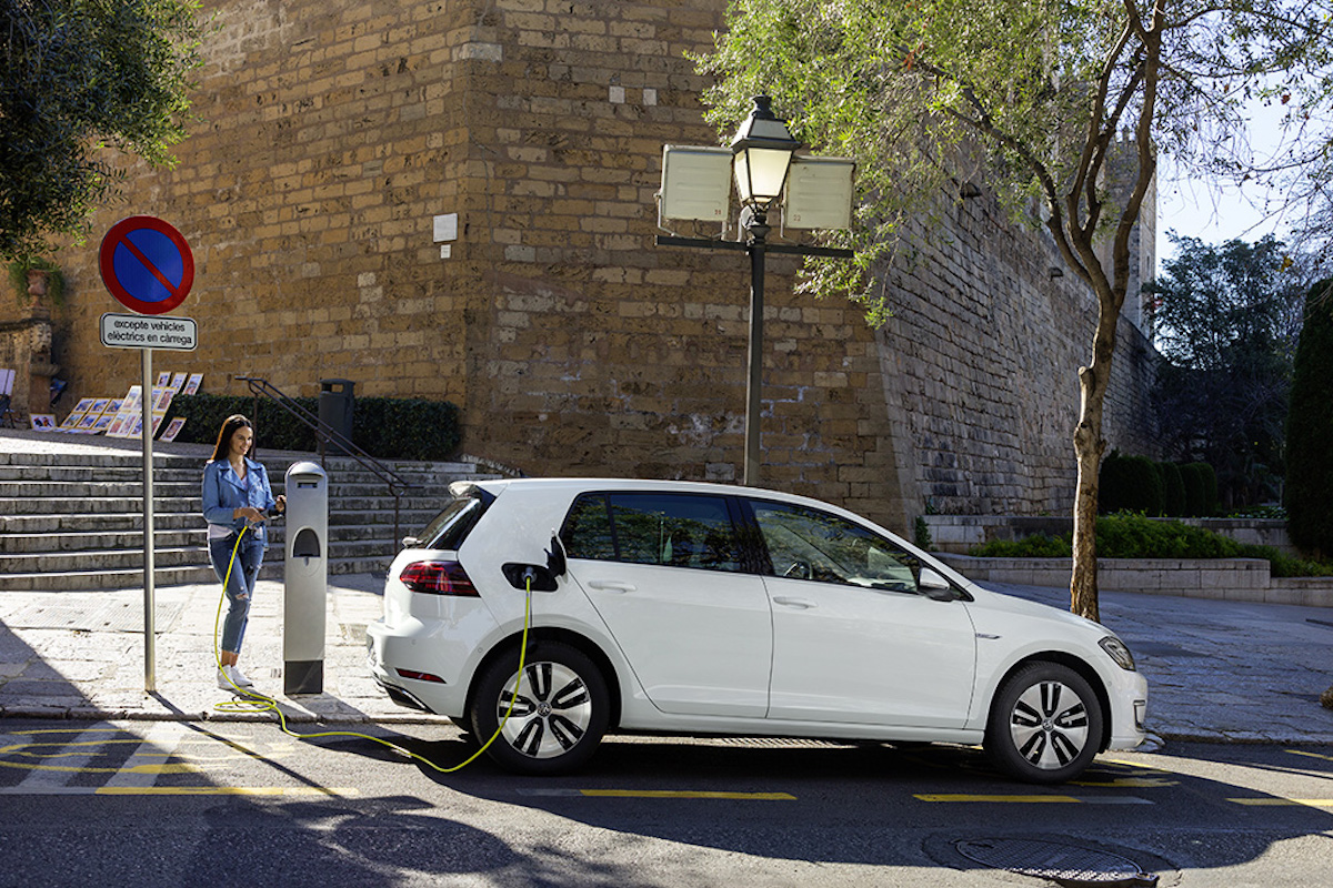 Volkswagen e-Golf na elektrický pohon