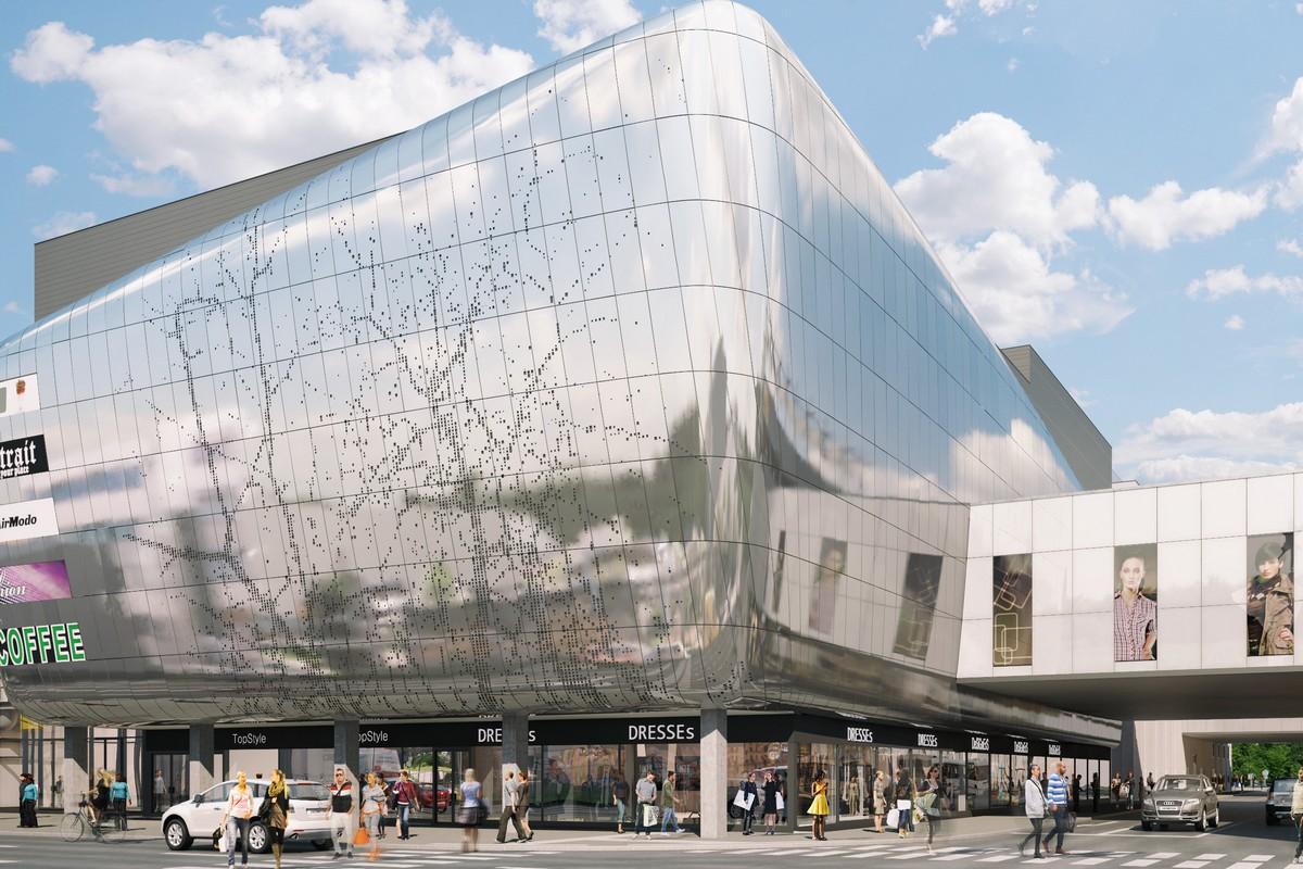 Vizualizace obchodního centra IGY