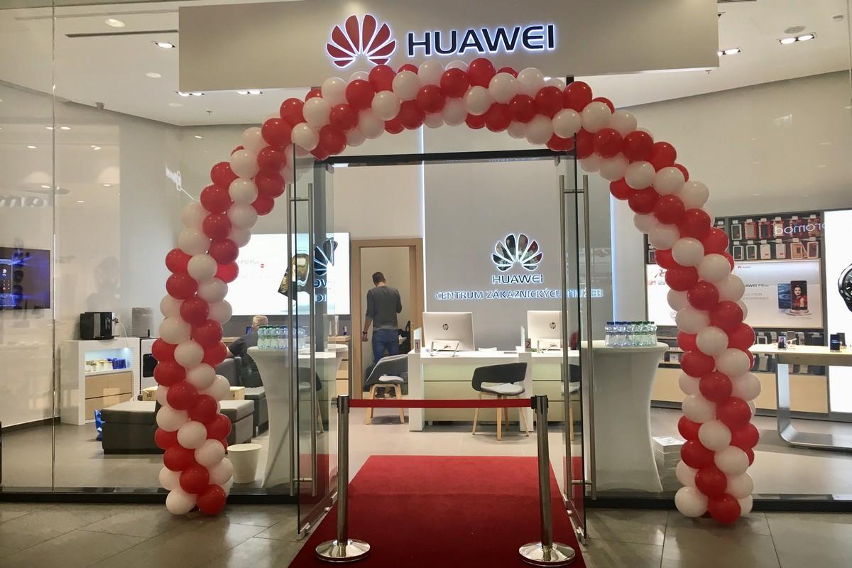 Nová pobočka Huawei