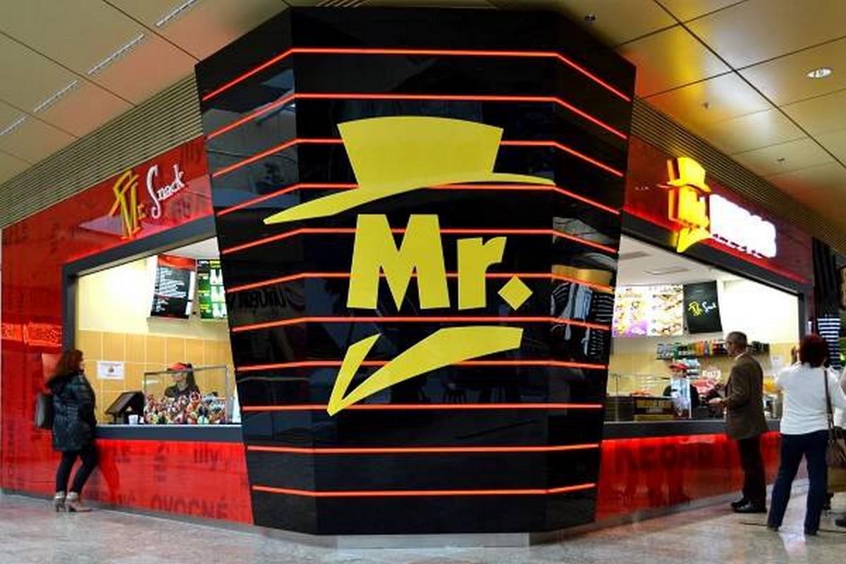 Vzhled poboček Mr. Kebab