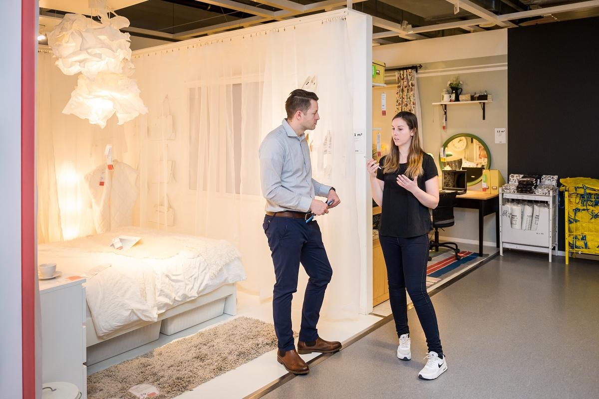 V září na Černém Mostě změní Ikea způsob prezentace výrobků. Foto: Vojta Herout