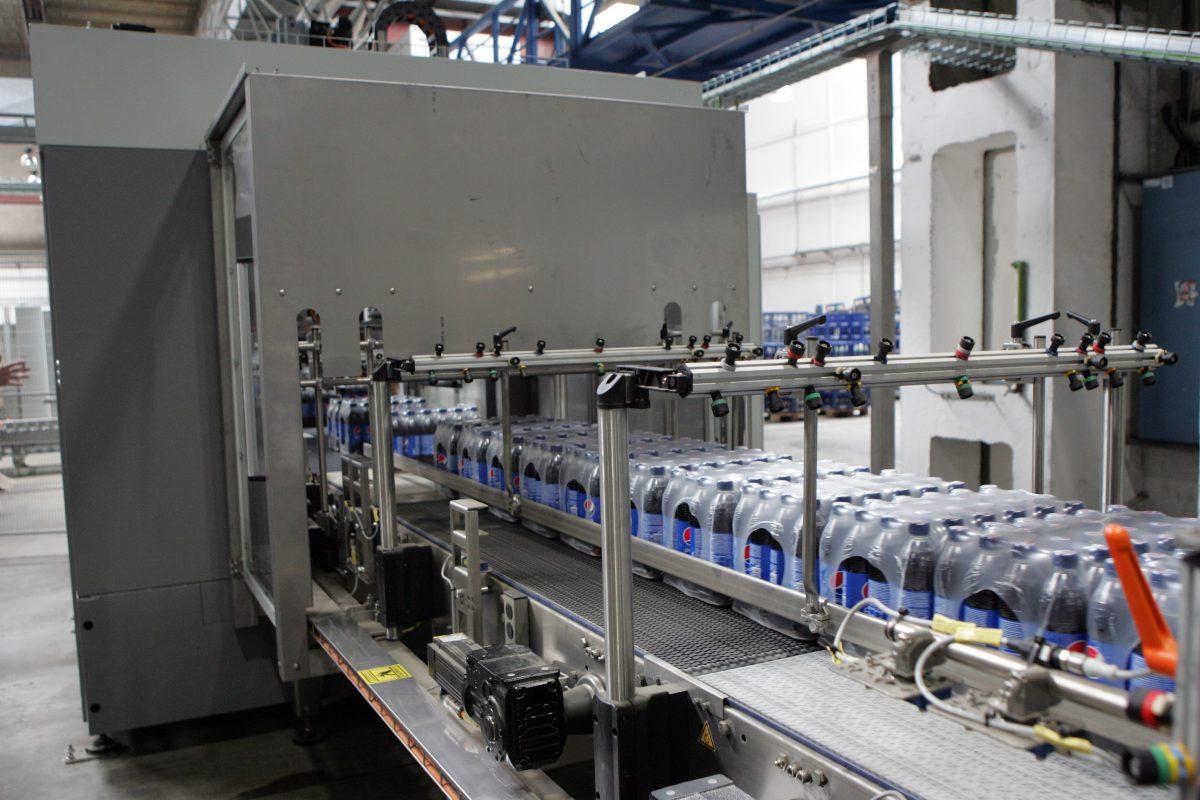 Nová výrobní linka ve výrobně firmy PepsiCo
