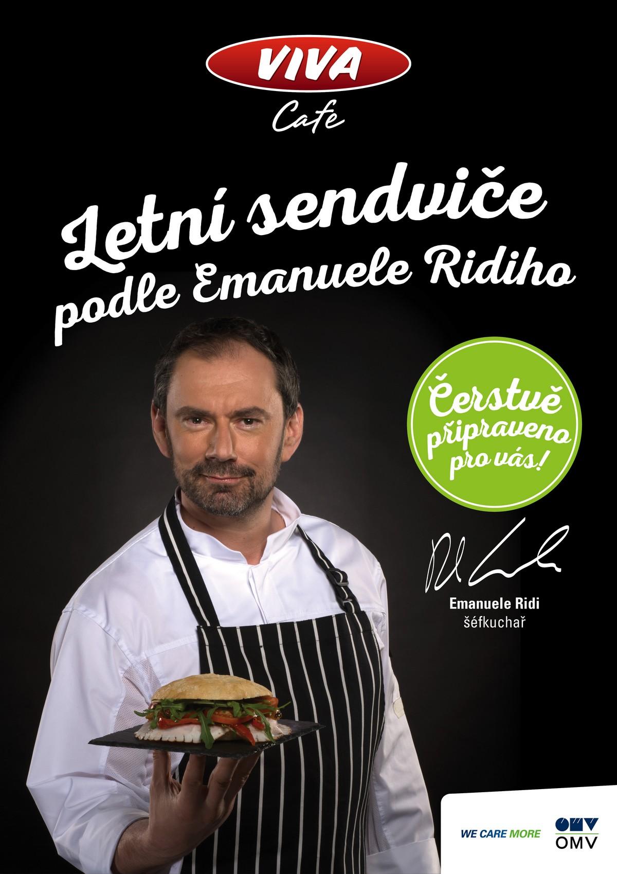 Hlavní tvář kampaně Emanuele Ridi