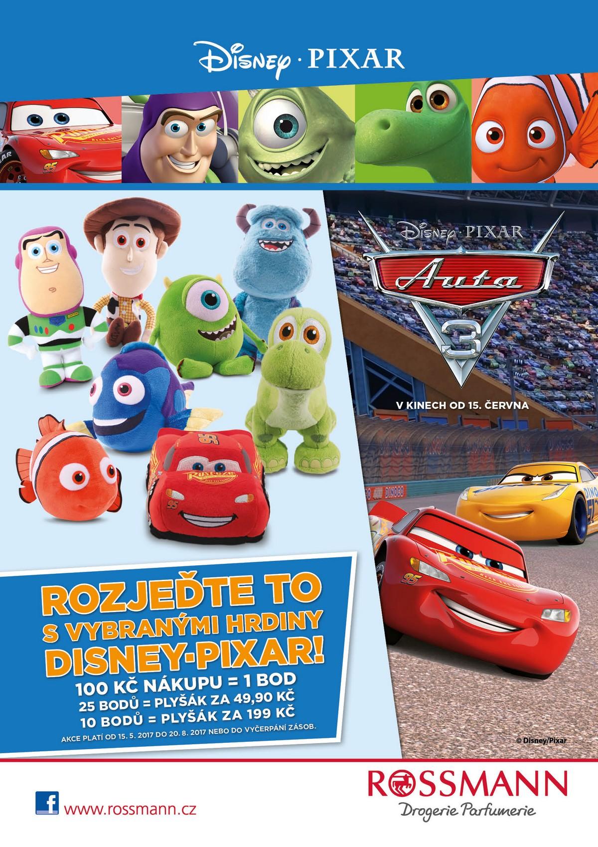 Nová věrnostní kampaň s Disney Pixar