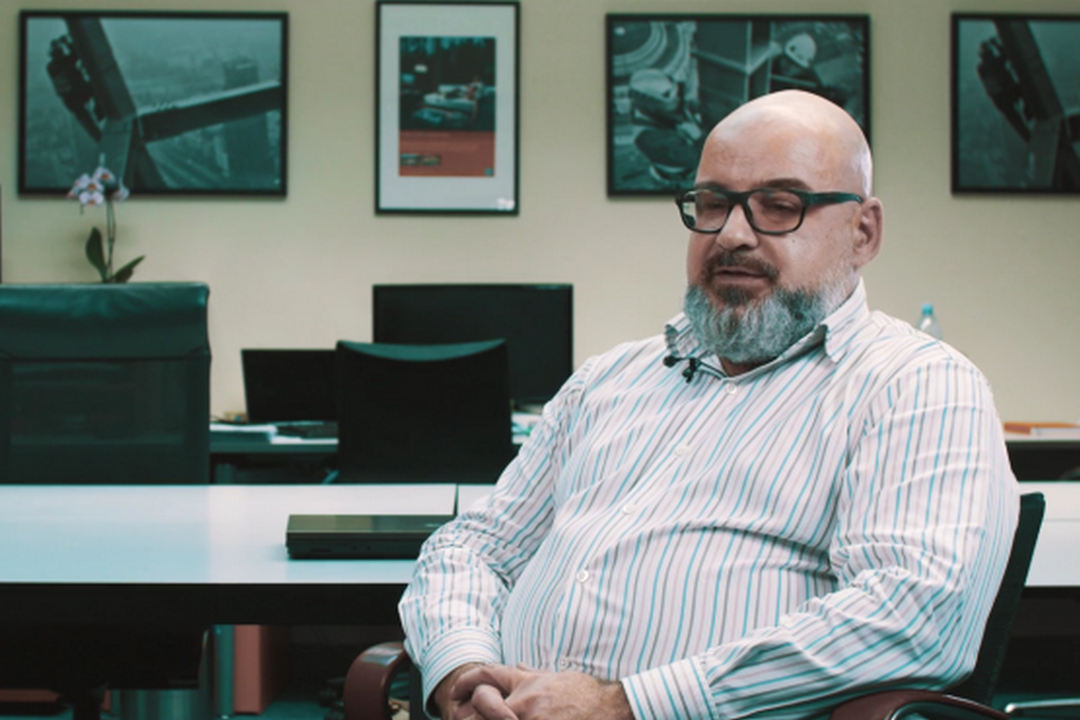 Stephen Flanagan, zakladatel a ředitel RedCroxu