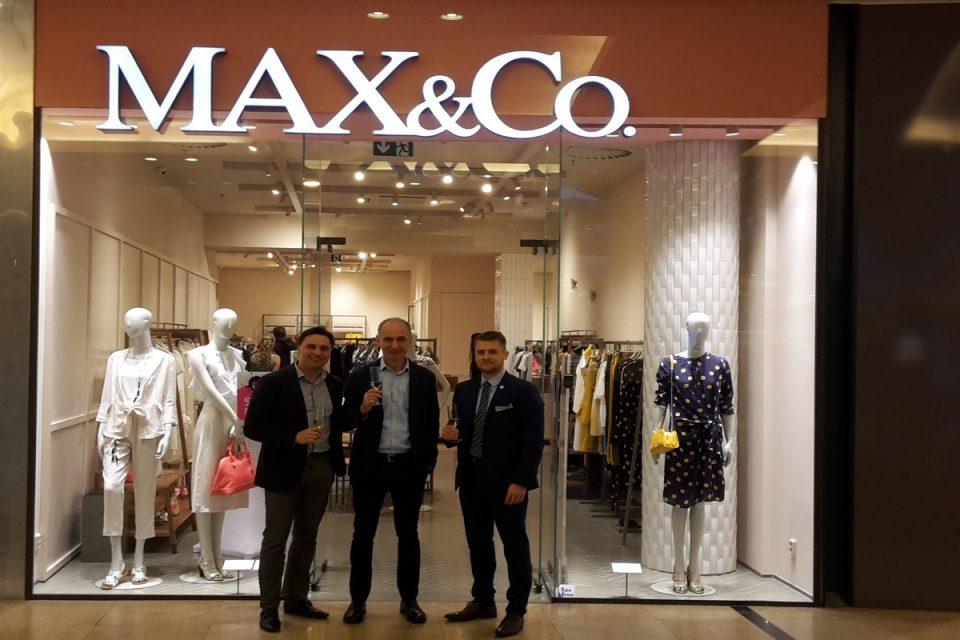 Módní značka Max & Co. otevřela v Praze svůj druhý butik, v Palladiu