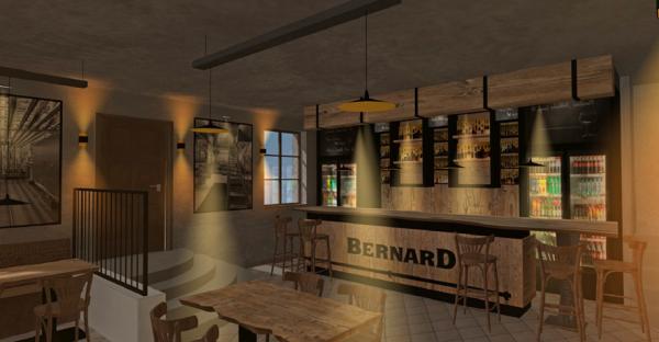 Návrh interiéru Bernard Baru