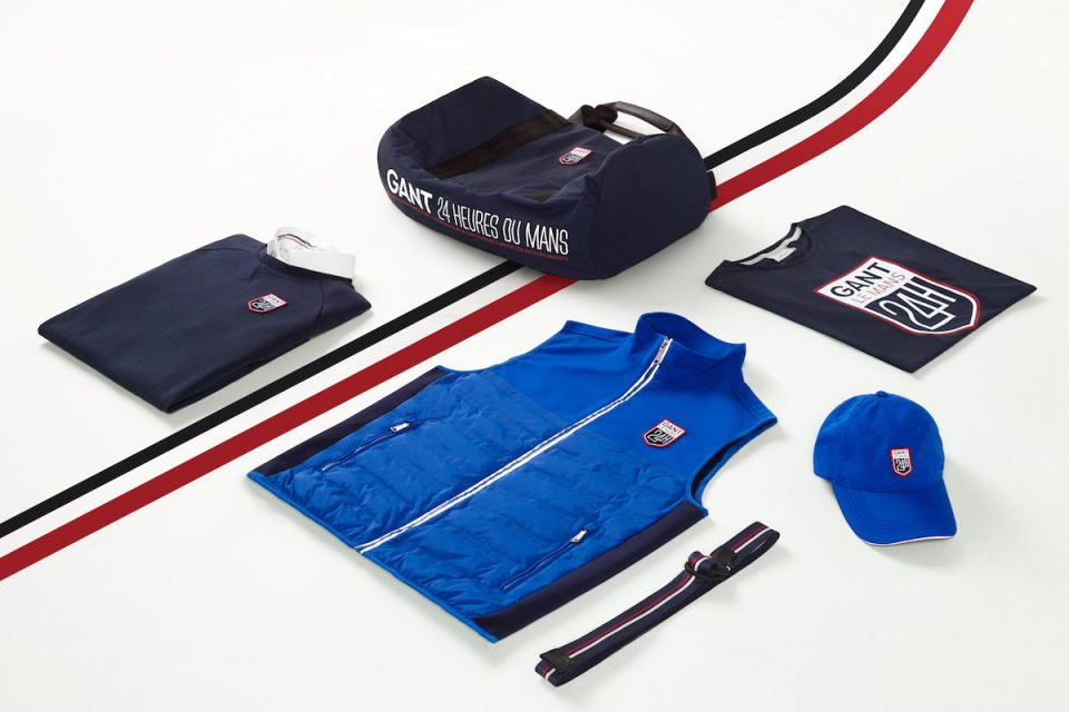 Gant uvádí kolekci ve stylu závodu Le Mans