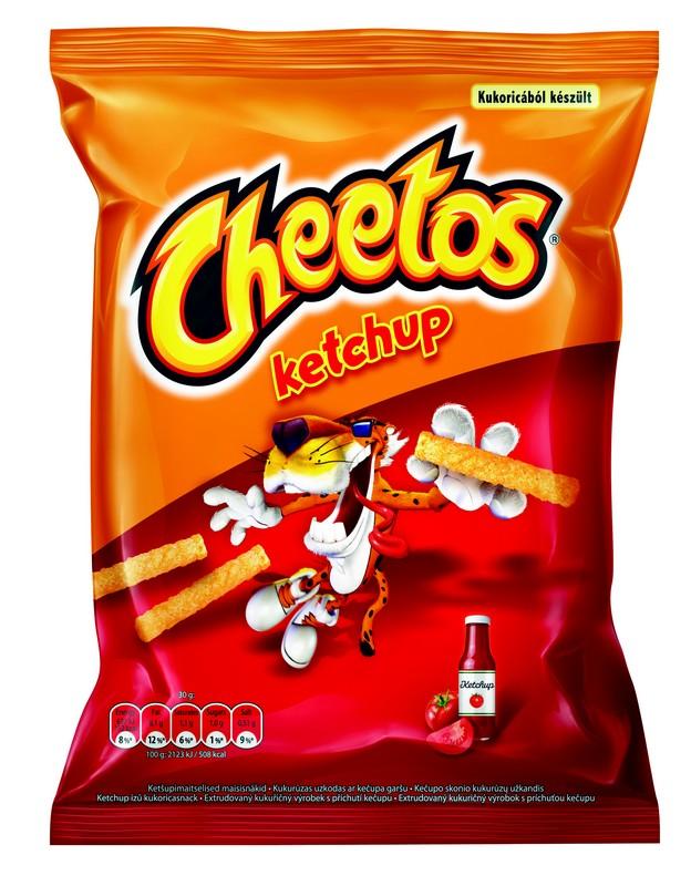 Kečupové Cheetos
