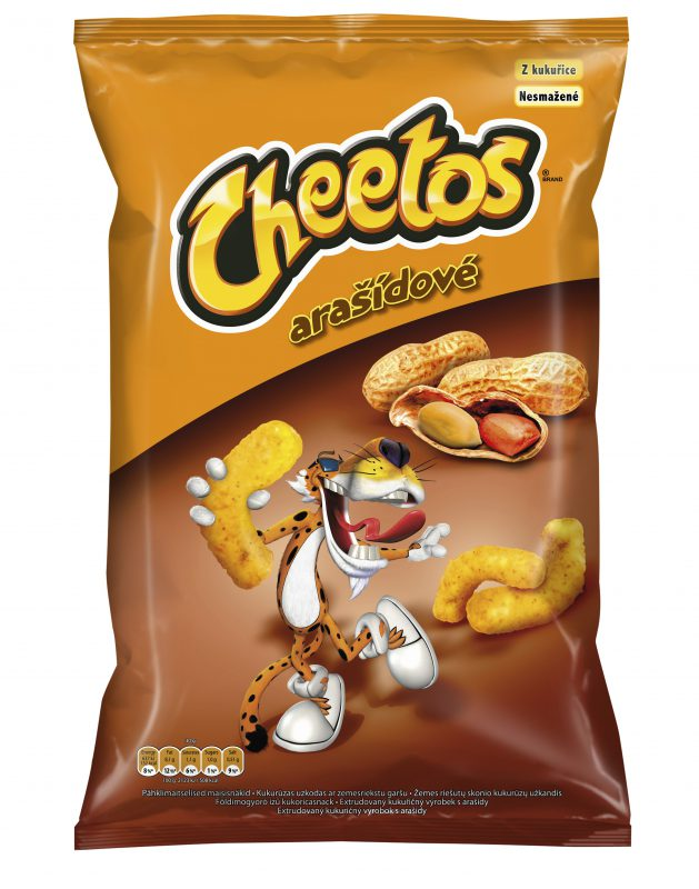 Arašídové Cheetos