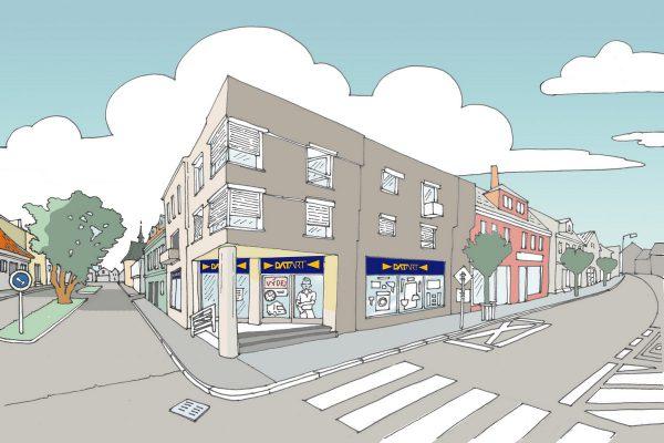Datart otvírá další menší městskou prodejnu, v Nymburku