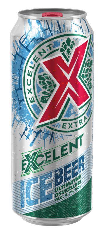 Plechovka Excelent Ice Beer