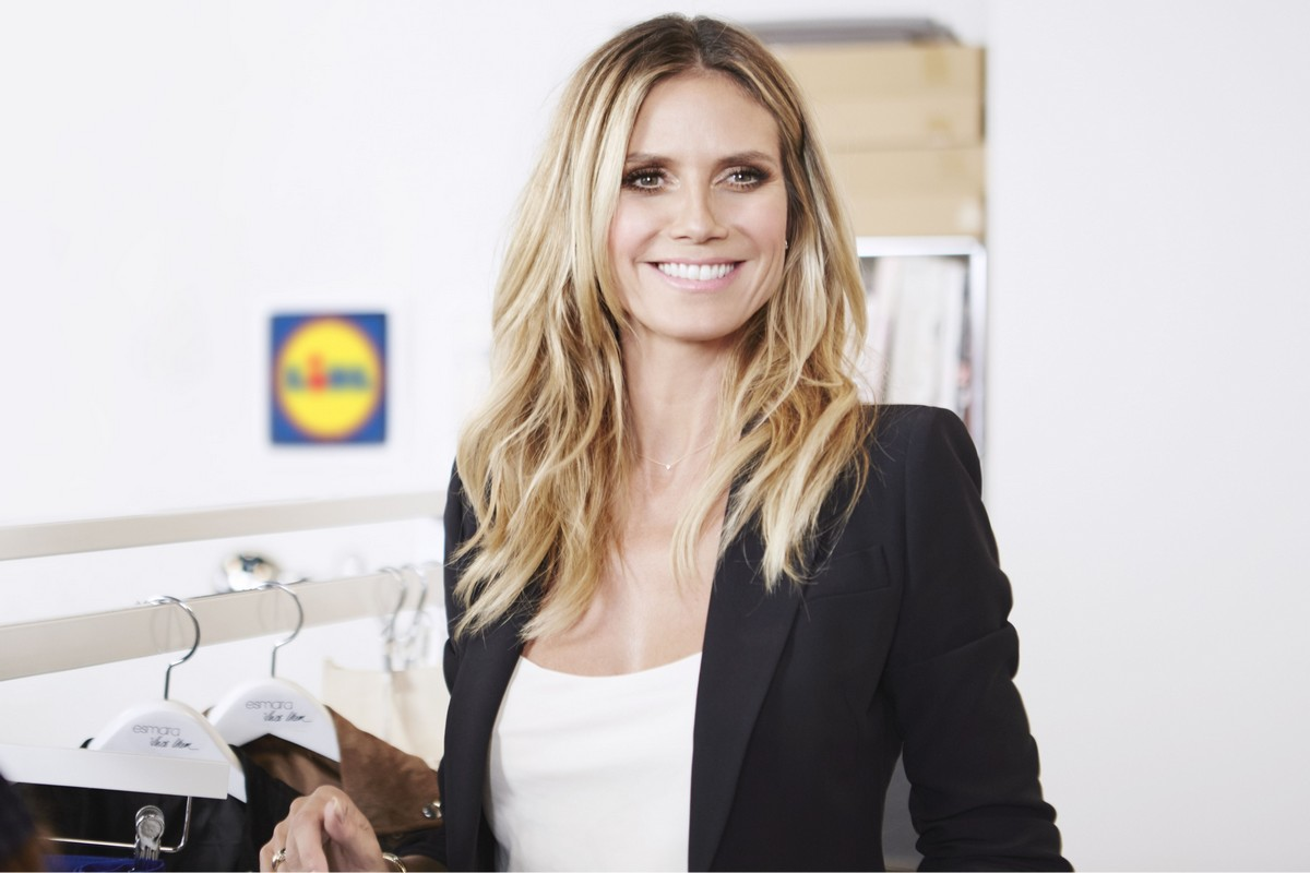 Německá modelka Heidi Klum je novou tváří Lidlu