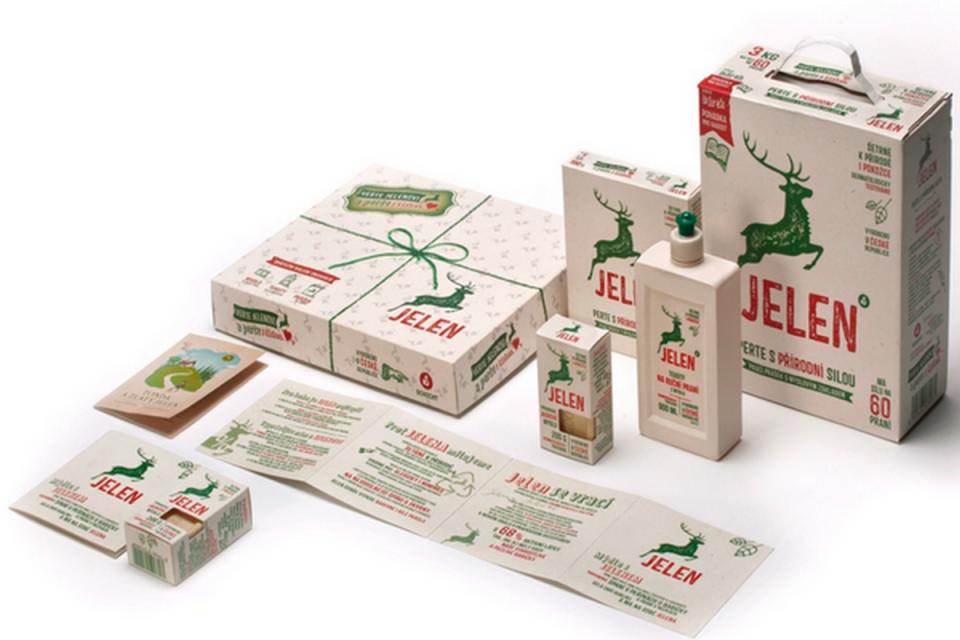 Klasické mýdlo Jelen má nově i prací gel, prášek nebo odstraňovač skrvn