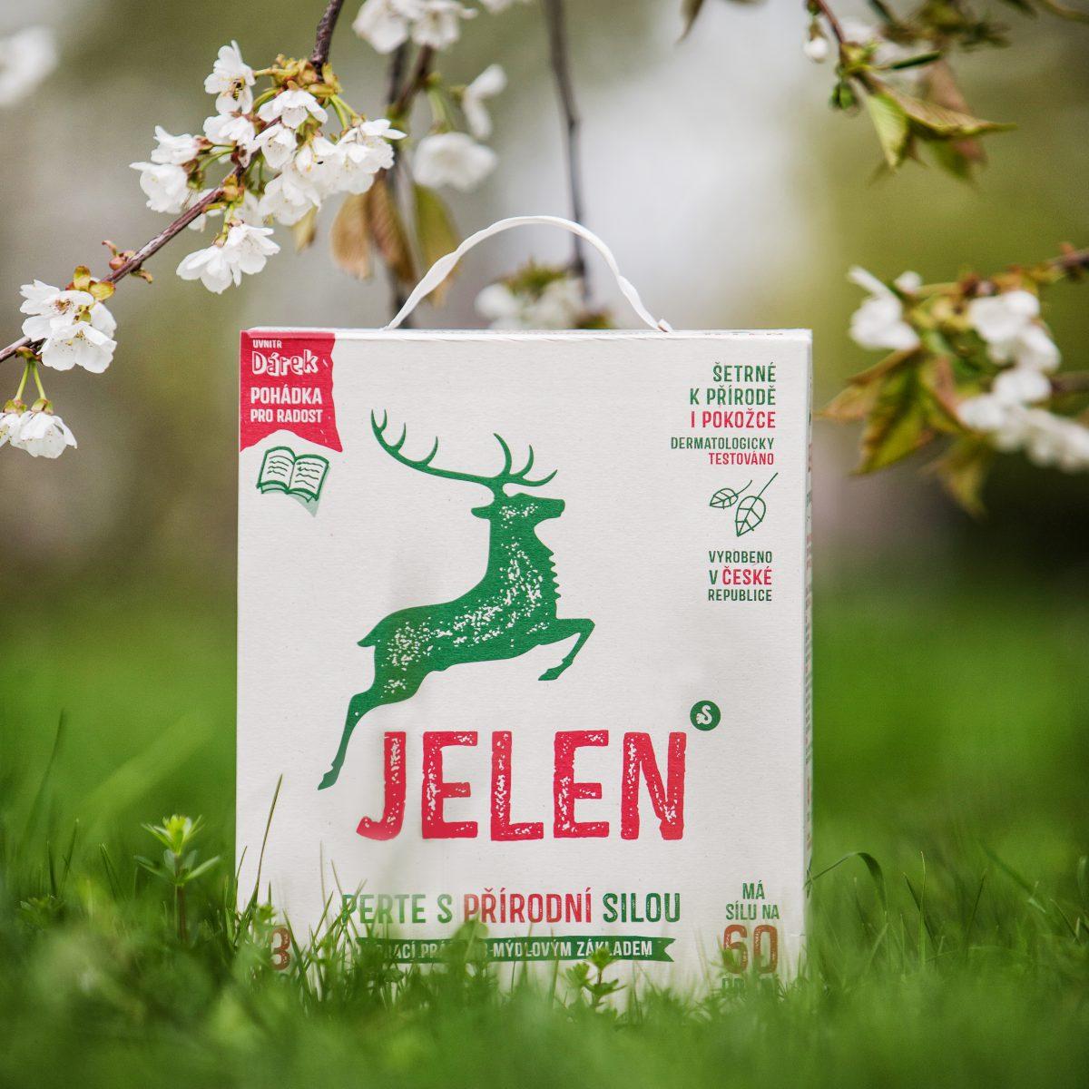 Prací prášek Jelen