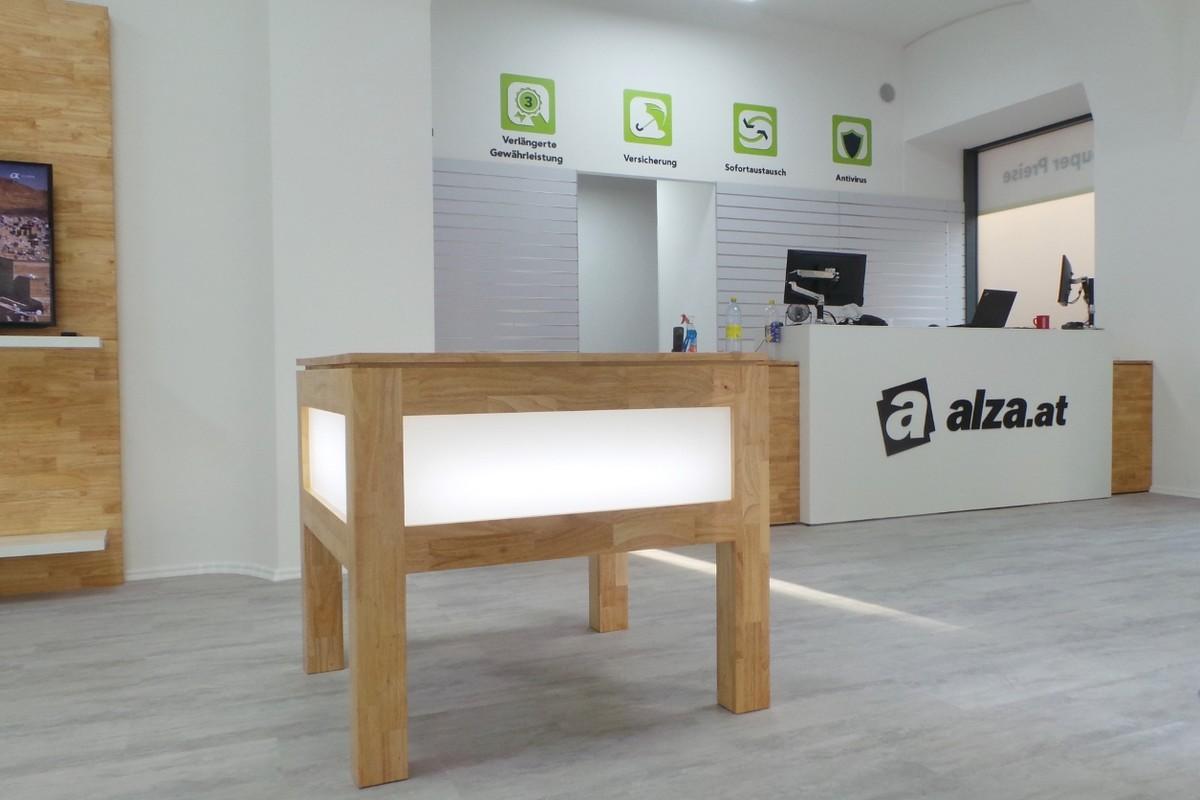 Nová prodejna Alzy ve Vídni