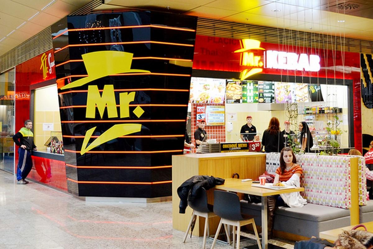 Pobočky sítě Mr. Kebab