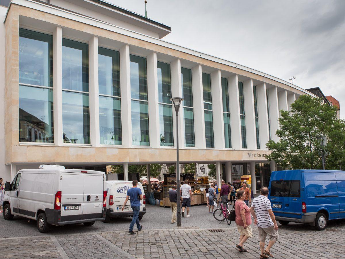 Nová podoba Tržnice Brno. Foto: Tomáš Hájek
