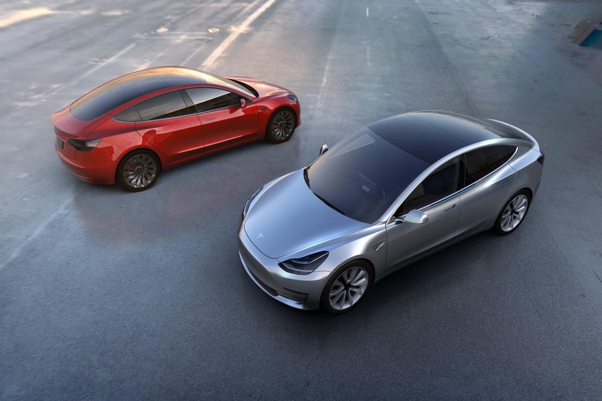 Nová Tesla 3. Foto: Profimedia.cz