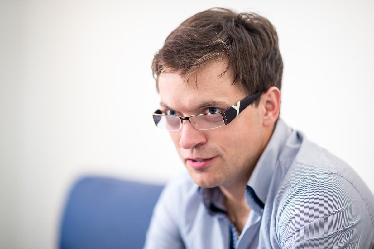 Michal Kroupa, manažer externí komunikace Ikea pro Česko, Slovensko a Maďarsko. Foto: Vojta Herout