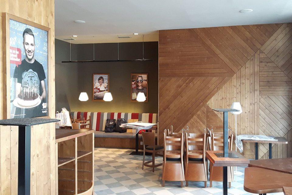 CrossCafe otvírá novou pobočku v obchodním domě Luka