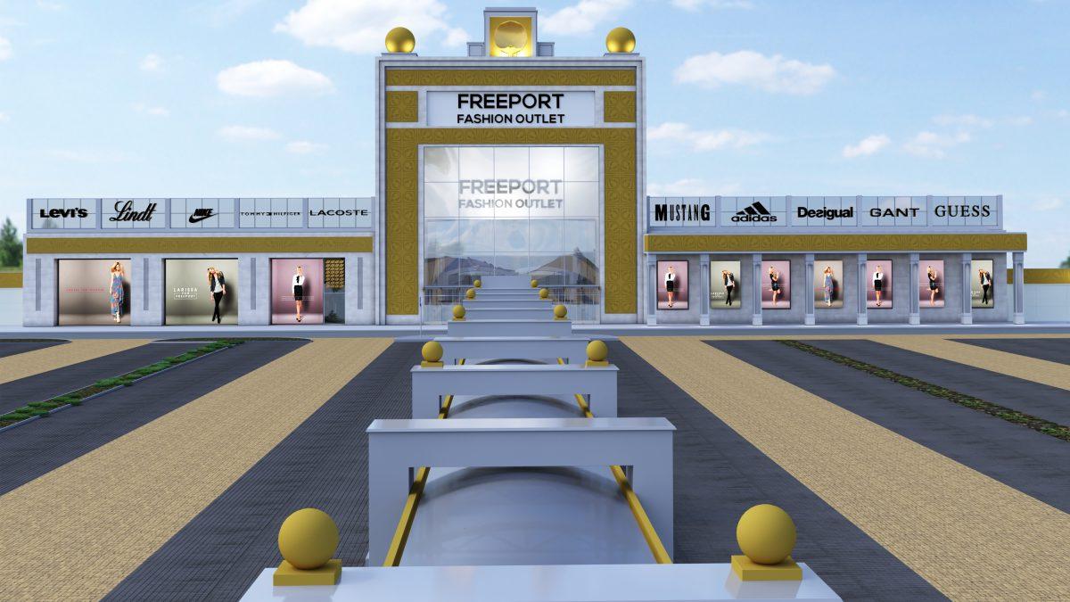 Návrh nového designu Freeport Fashion Outletu