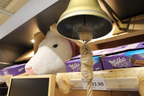 Milka se v Globusu nabízí v novém konceptu shelf-in-shelf