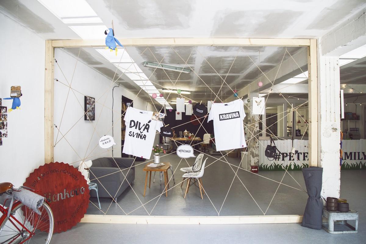 Prodejna Křupavé místo ve Vysočanech