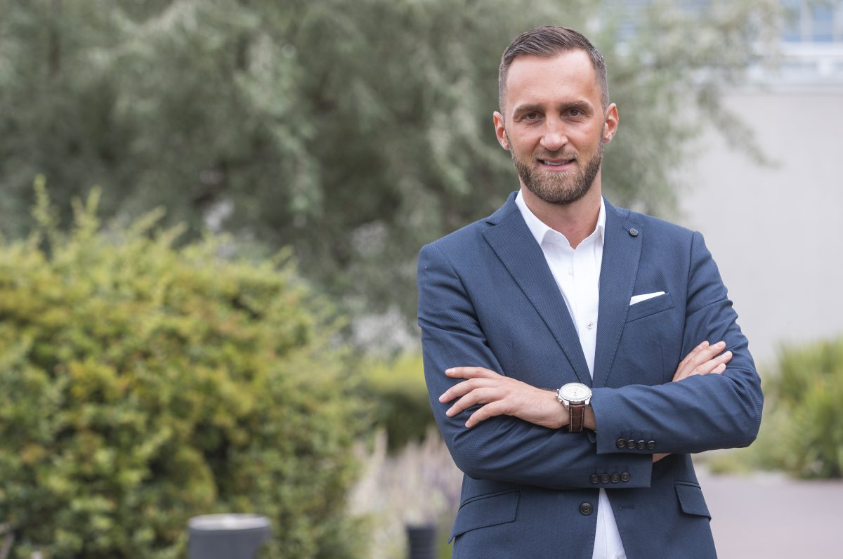 Lukáš Répal, který aktuálně řídí asset management a akvizice pro fond Accolade
