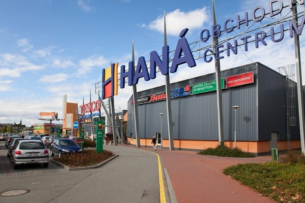 Obchodní centrum OC Haná v Olomouci