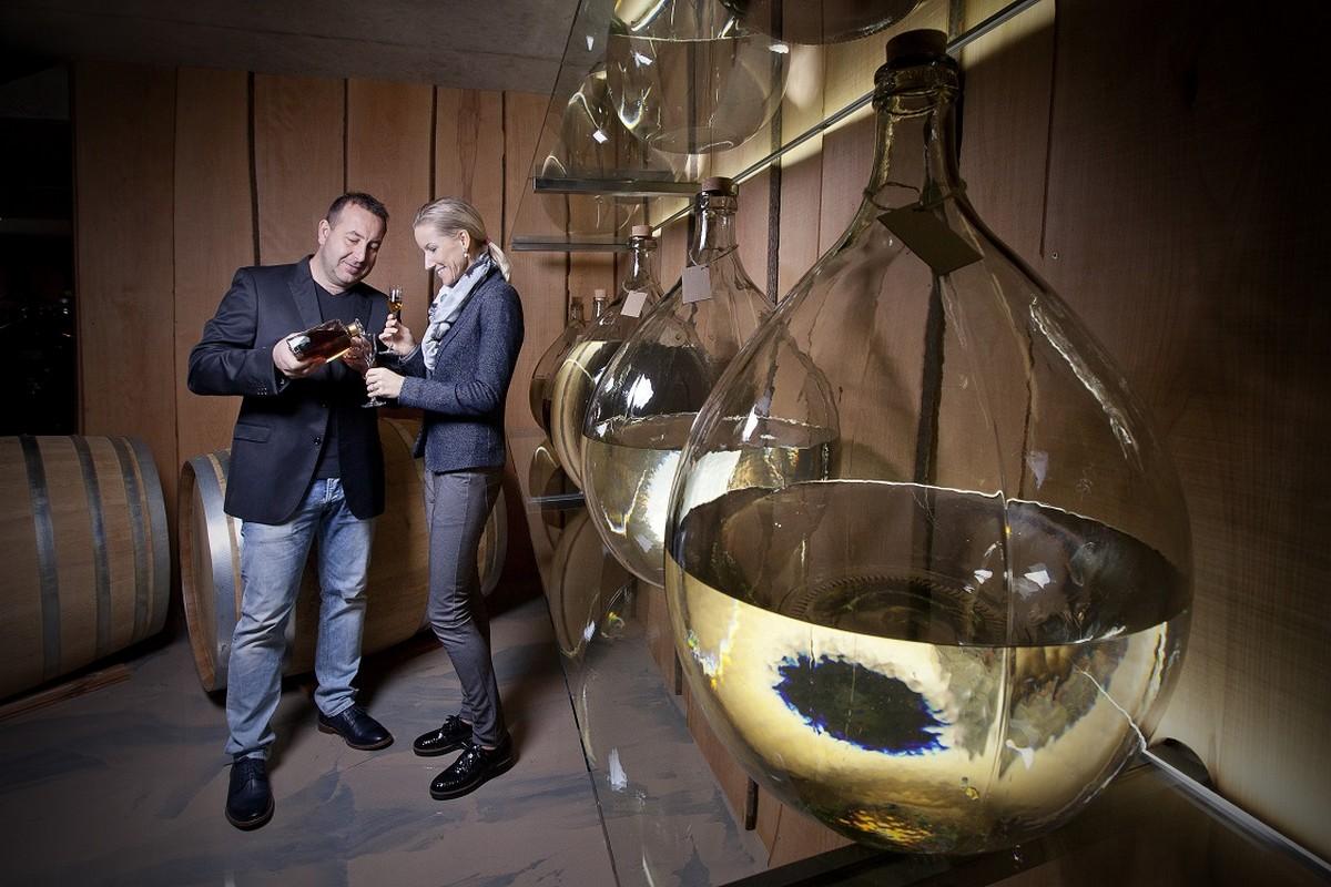 Zakladatelé Destillery Kleiner Jan a Růžena Kleinerov