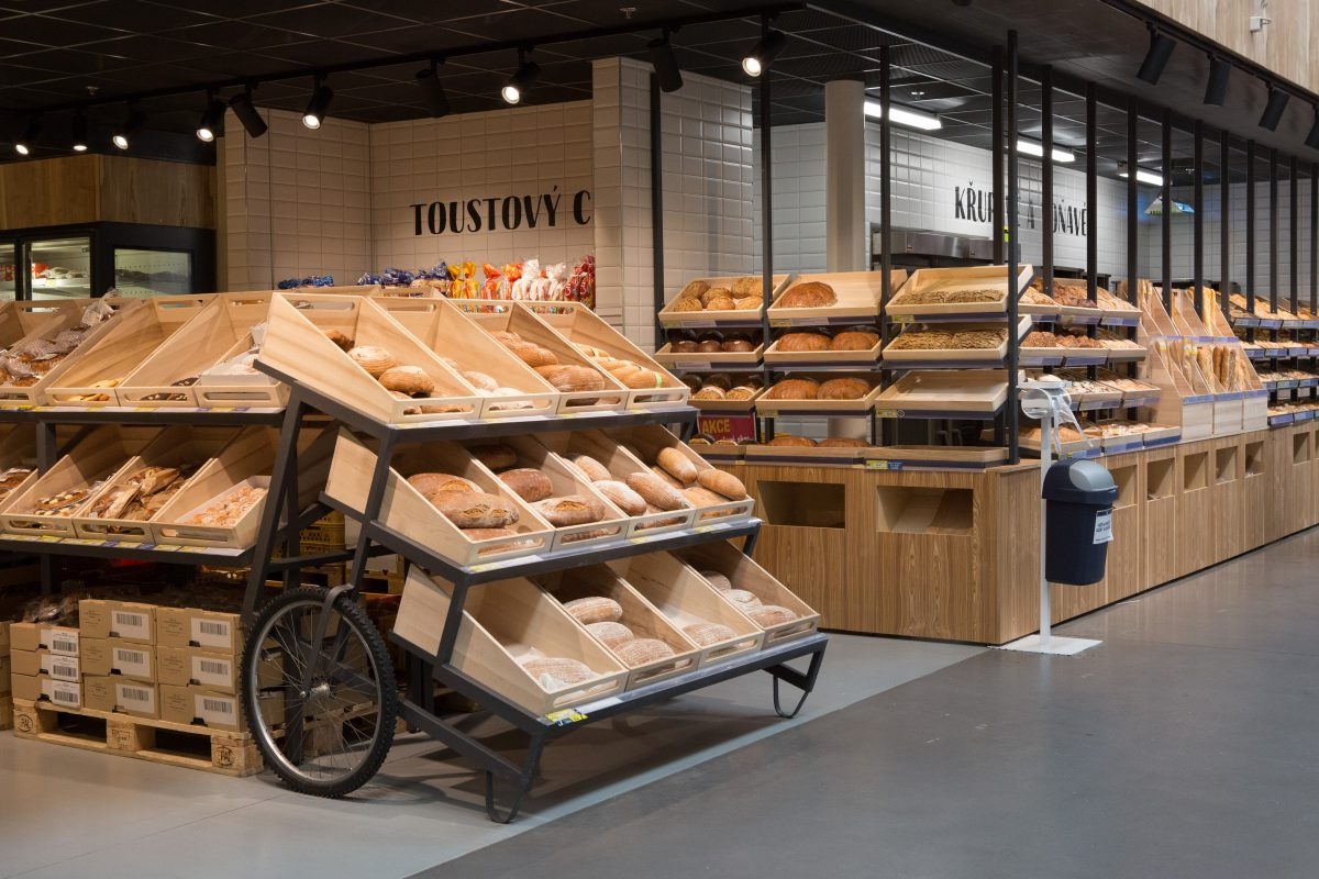 Nově zrekonstruovaná pekárna v Makro Stodůlky