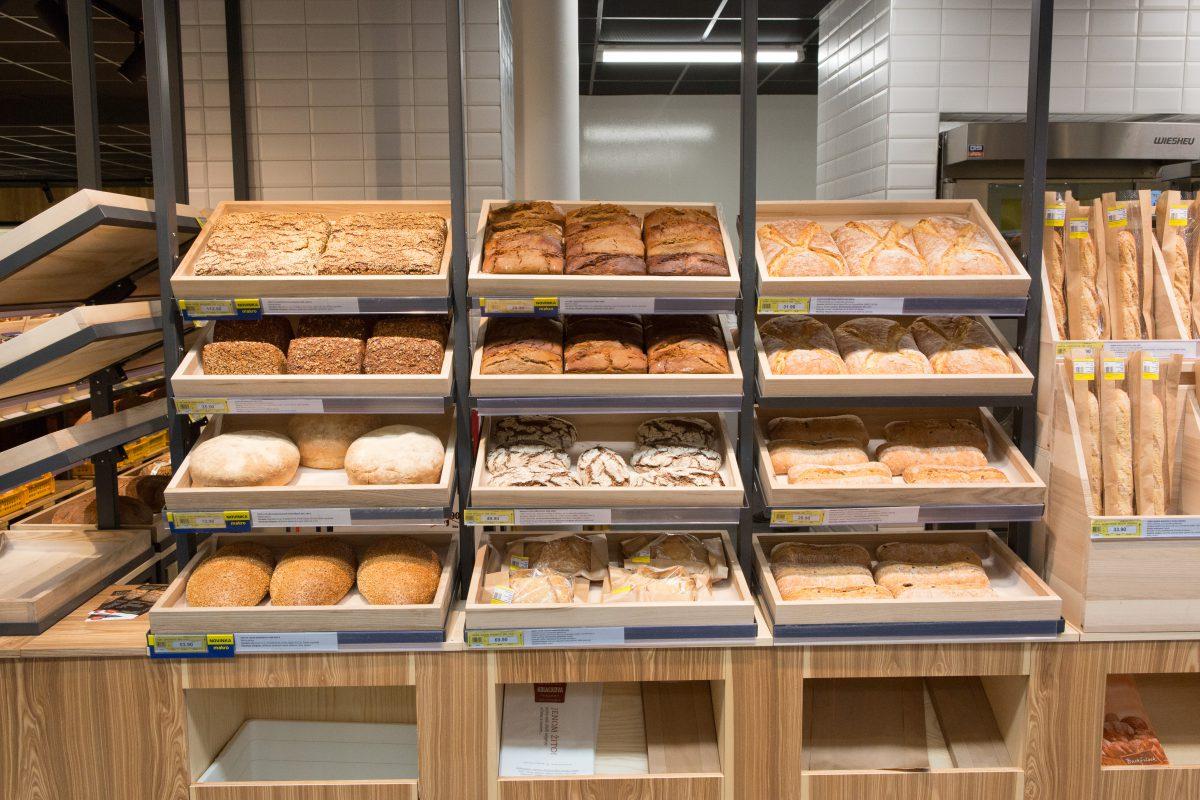 Nová pekárna v Makru Stodůlky