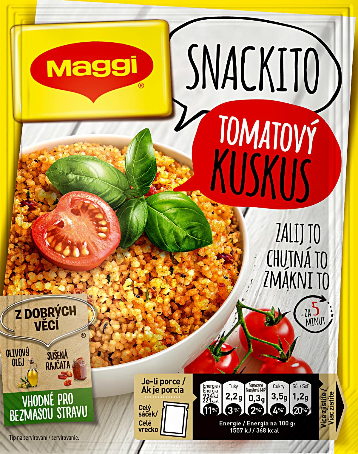 Novinka Maggi Snackito