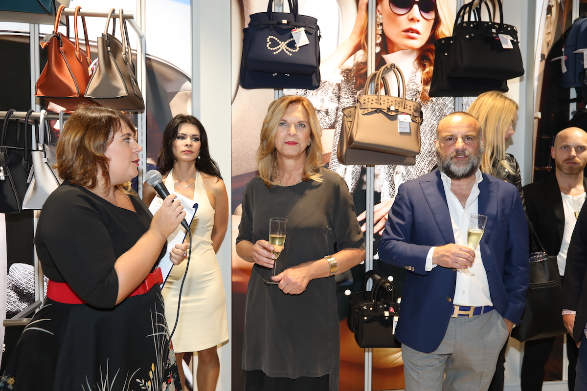 Spolumajitelé butiku Save My Bag Alena Tatarová a Davide Belia
