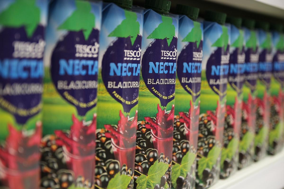 Privátní značka Tesco Nectar