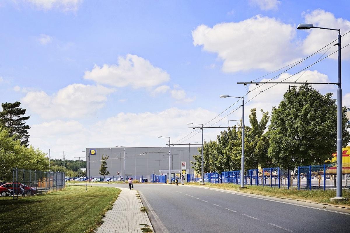 Distribuční centrum Lidlu v Plzni