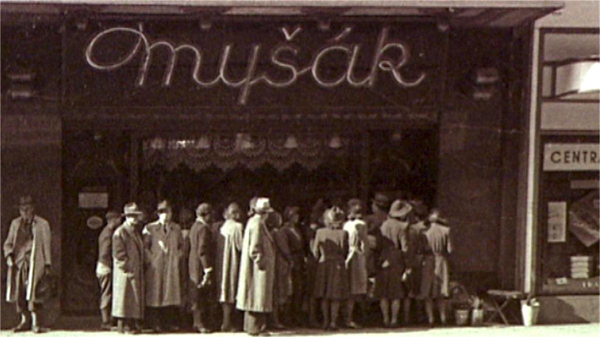 Cukrárna Myšák za první republiky